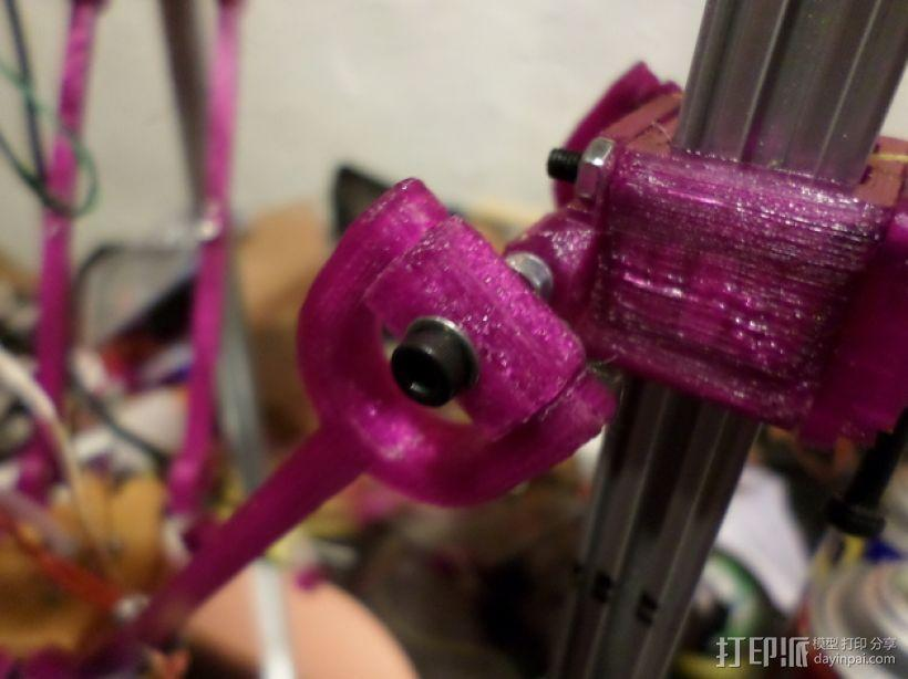Delta 式3D打印机的螺杆接头 3D模型  图1