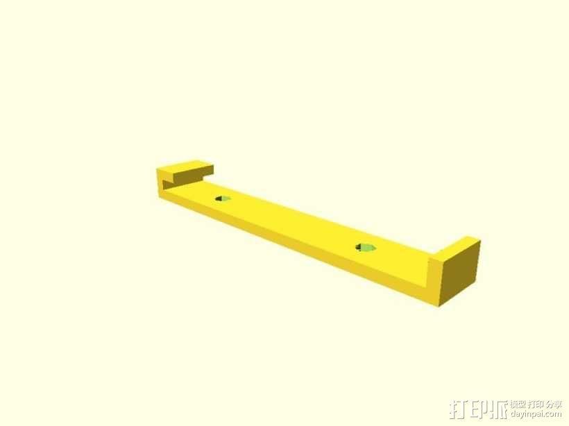 Leapfrog Creatr 打印机的顶部框架 3D模型  图2