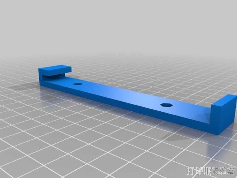 Leapfrog Creatr 打印机的顶部框架 3D模型  图3