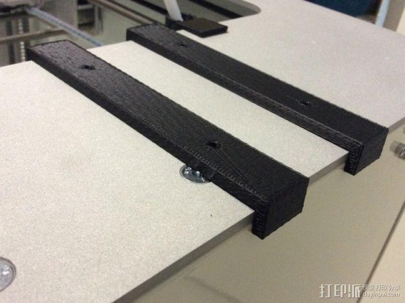 Leapfrog Creatr 打印机的顶部框架 3D模型  图4