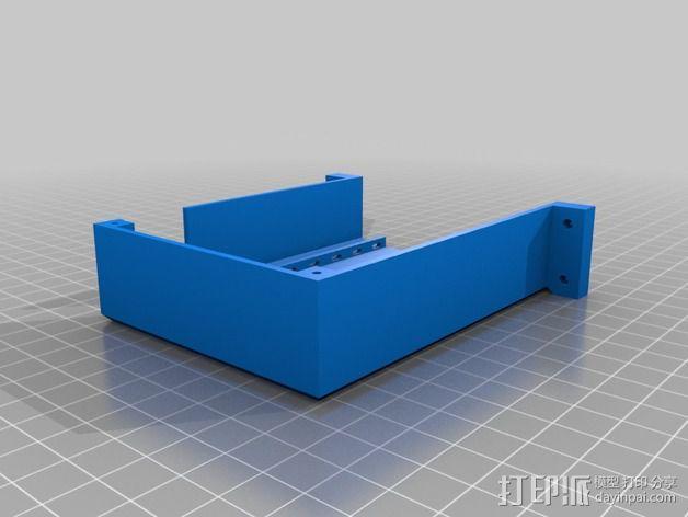 电路板保护罩 3D模型  图4