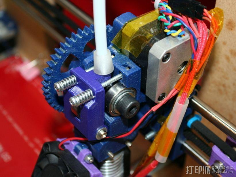 Greg's Wade挤出机的惰轮 3D模型  图1