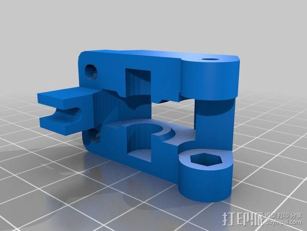 Greg's Wade挤出机的惰轮 3D模型  图2