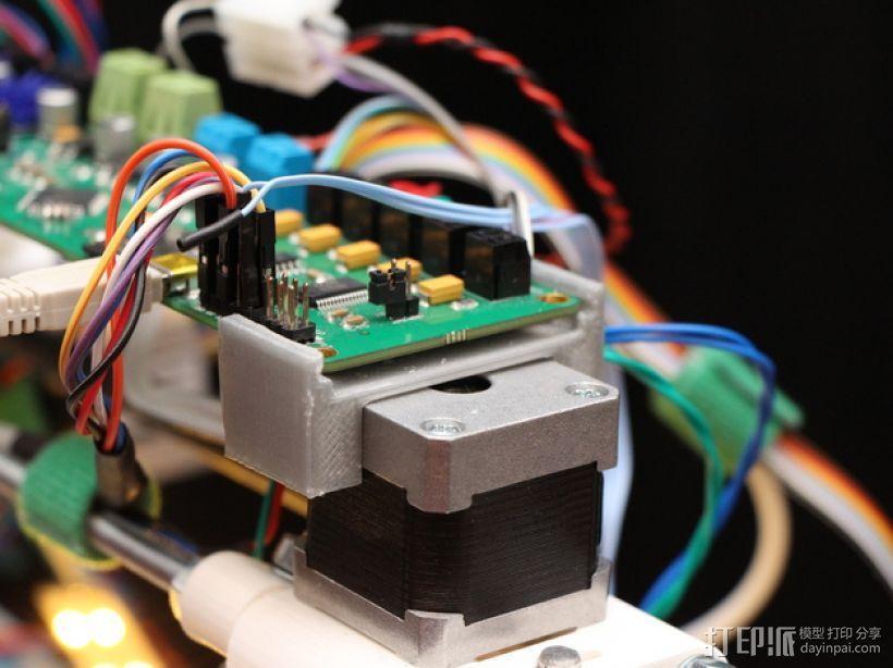Melzi 电路板支架 3D模型  图1