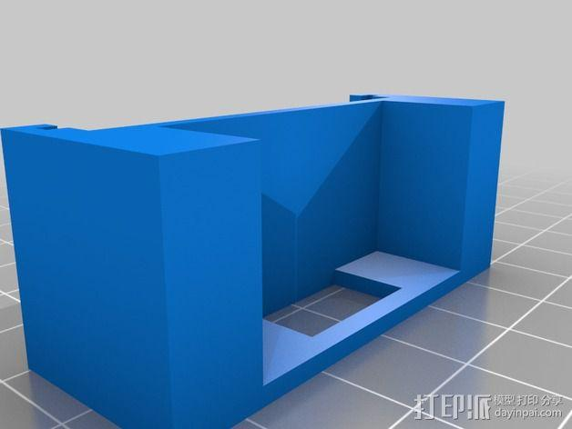 Melzi 电路板支架 3D模型  图2