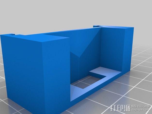 Melzi 电路板支架 3D模型  图3