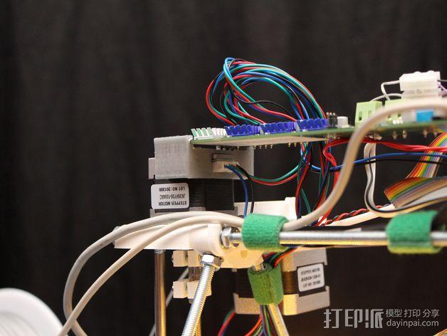 Melzi 电路板支架 3D模型  图4