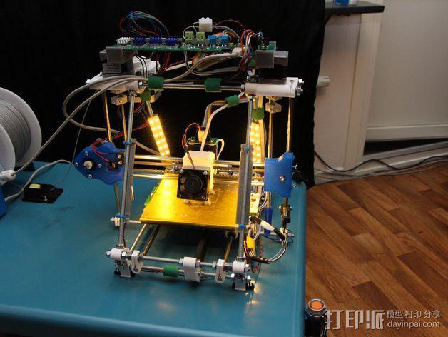 Melzi 电路板支架 3D模型  图6