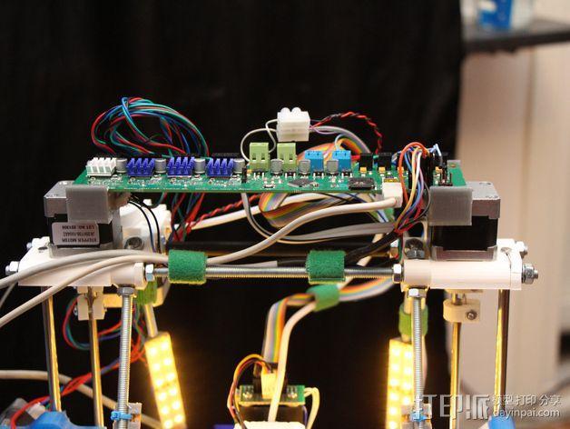 Melzi 电路板支架 3D模型  图5