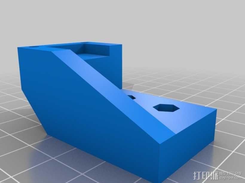 Replicator 2 打印机的限位开关 打印机外罩 3D模型  图5