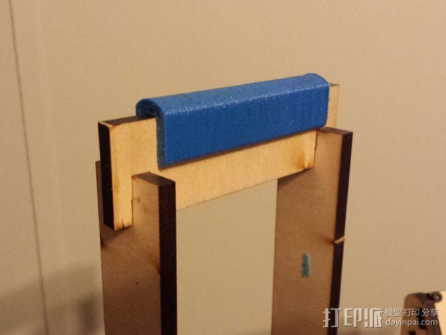 MakerFarm Prusa i3打印机的线轴支架 3D模型  图3
