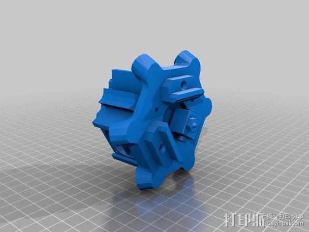 三脚架配件 3D模型  图3