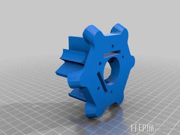 三脚架配件 3D模型  图2