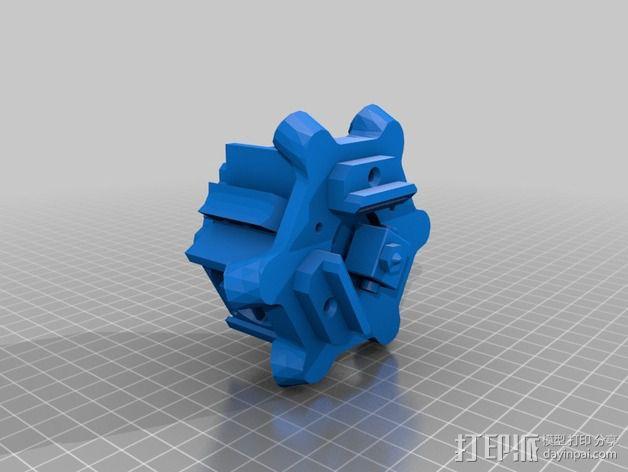 三脚架配件 3D模型  图5