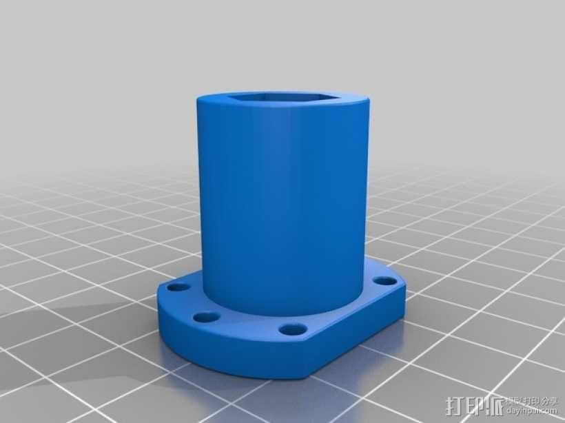 螺母 3D模型  图1