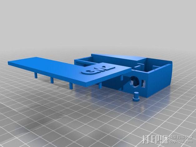 GM2盒子 3D模型  图1