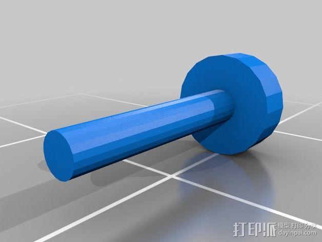 螺栓 3D模型  图2