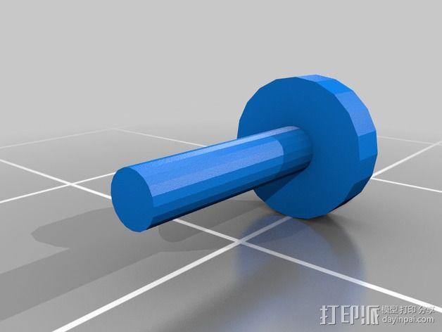 螺栓 3D模型  图7