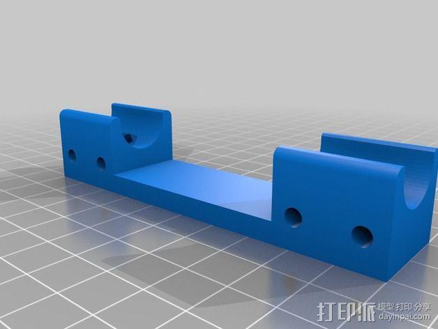 K8200 Y轴轴承 3D模型  图2