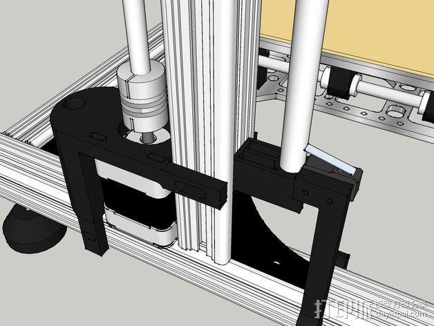 Z轴适配器 3D模型  图10