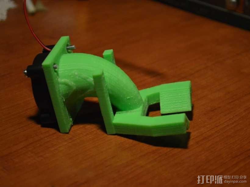 风扇 3D模型  图4