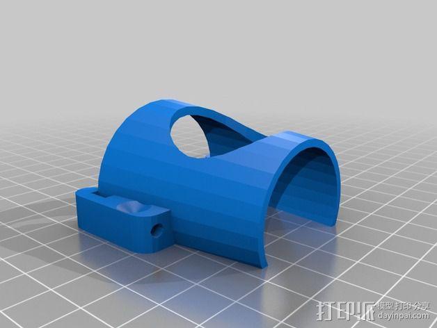 3D推杆 3D模型  图3