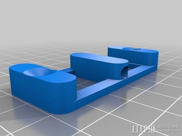 3D推杆 3D模型  图5