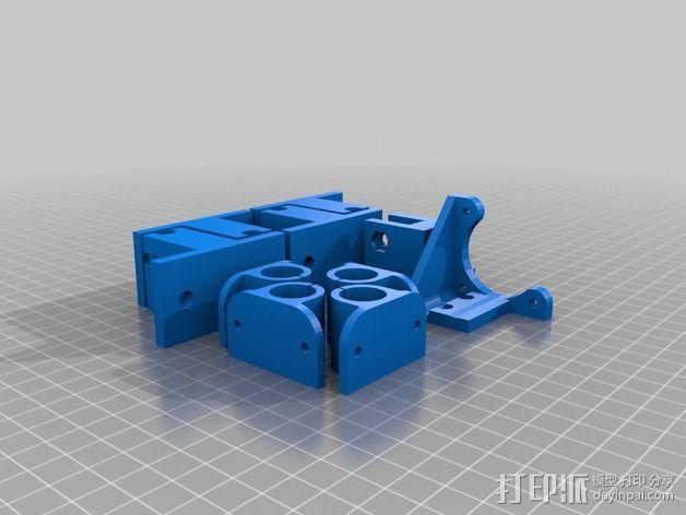 Prusa I3适配器 3D模型  图9