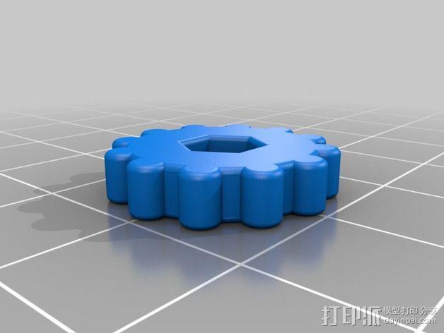 Prusa I3适配器 3D模型  图10