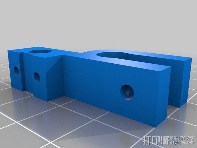 可调整Z轴适配器 3D模型  图3