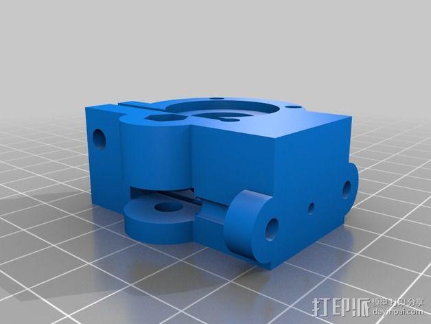 驱动分割器 3D模型  图3