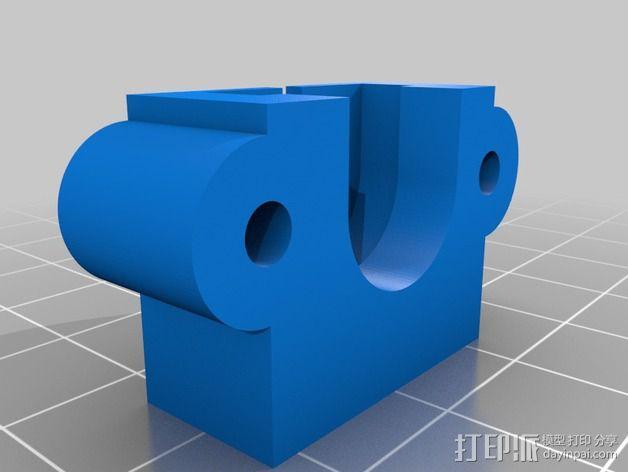 驱动分割器 3D模型  图2