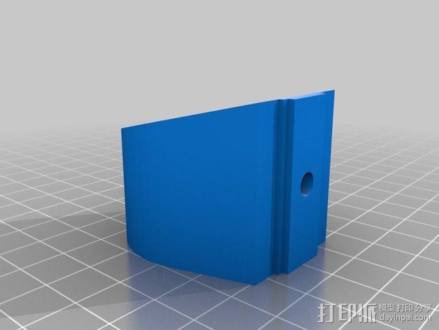 K8200螺母夹 3D模型  图2