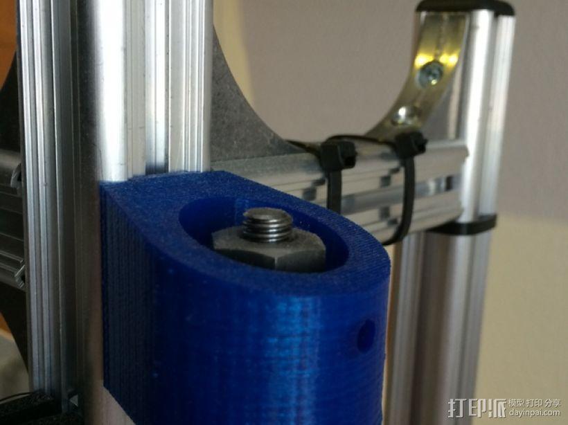 K8200螺母夹 3D模型  图1