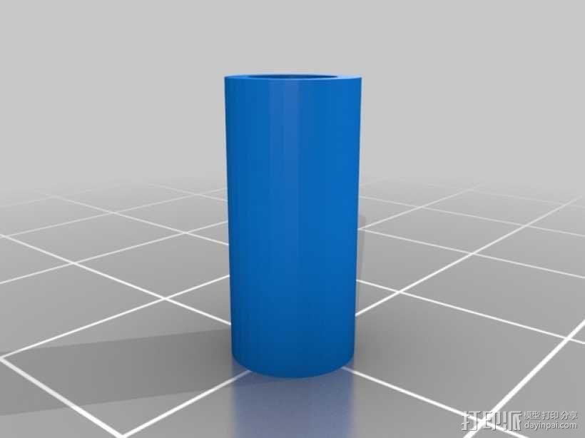 参数化间隔板 3D模型  图2