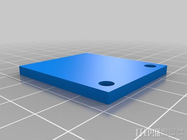 Prusa i3挤出器 3D模型  图2