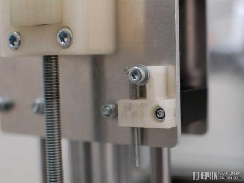 K8200防松螺丝 3D模型  图1