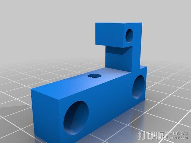 K8200防松螺丝 3D模型  图3