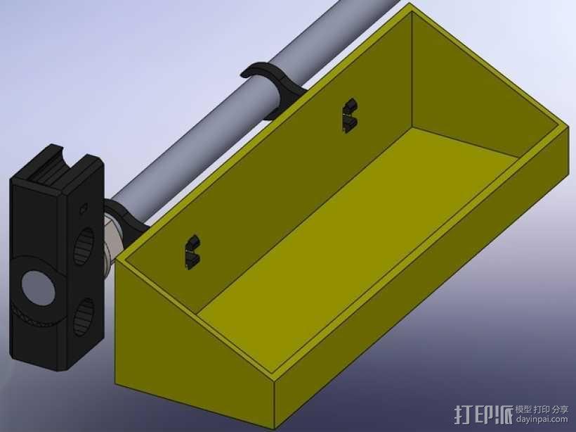 Prusa I3工具盒 3D模型  图1