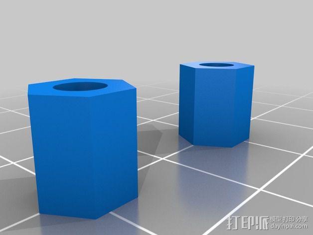 冷风扇支架 3D模型  图4