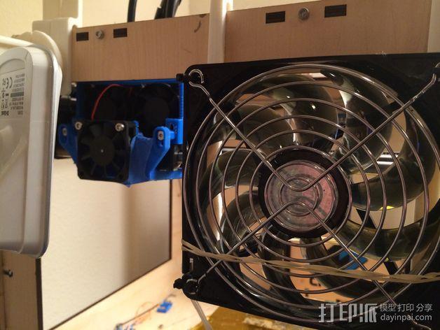 冷风扇支架 3D模型  图7