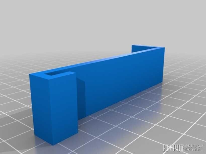 边缘夹 3D模型  图2