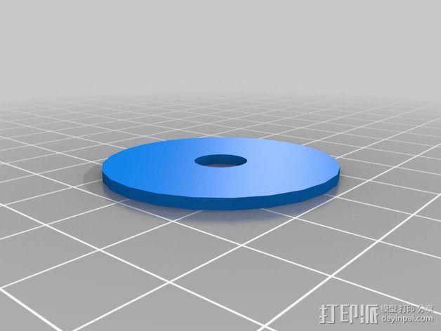 T形轴承 3D模型  图2