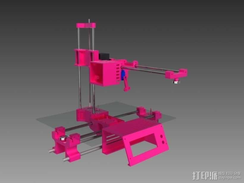 与众不同的Smartrap3d打印机 3D模型  图1
