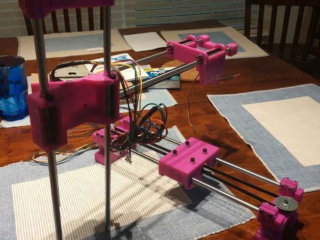 与众不同的Smartrap3d打印机 3D模型  图32