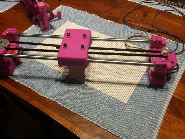 与众不同的Smartrap3d打印机 3D模型  图36