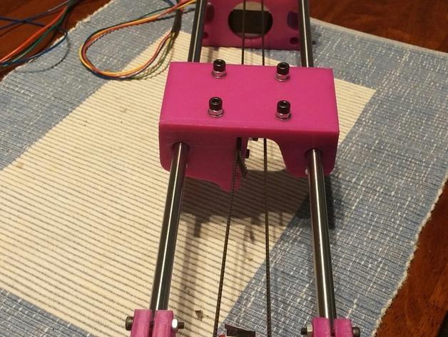 与众不同的Smartrap3d打印机 3D模型  图34