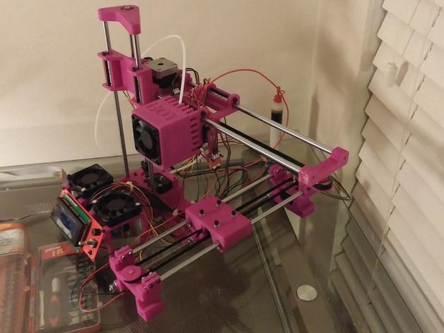 与众不同的Smartrap3d打印机 3D模型  图42