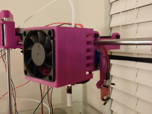 与众不同的Smartrap3d打印机 3D模型  图40