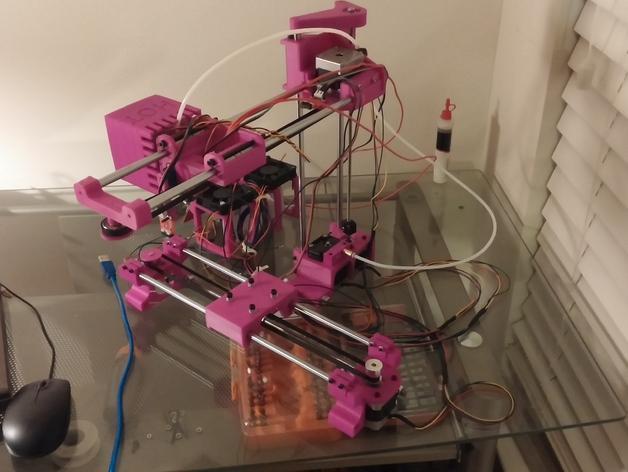 与众不同的Smartrap3d打印机 3D模型  图41